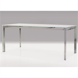 Mobital Ghost Dining Table in White