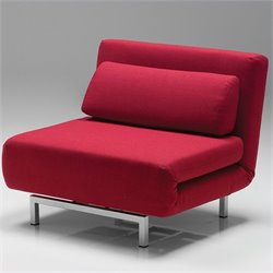 Mobital Iso Chair-Bed in Red Ween