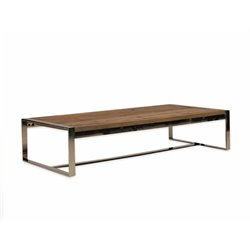 Mobital Motif Coffee Table in Polished Steel