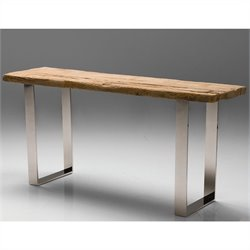 Mobital Provence Console Table in Polished Steel