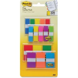 3M Post-it Flag Combo Pack (Set of 12)