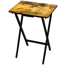 Oriental Furniture Bamboo Tree TV Tray