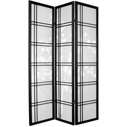 Oriental Furniture 6' Tall Bamboo Tree Shoji Screen Room Divider