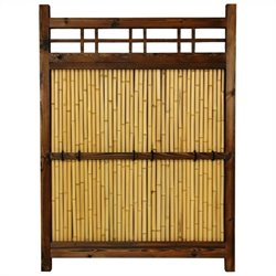 Oriental Furniture 4' x 3' Kumo Fence in Natural