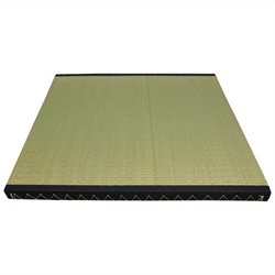 Oriental Tatami Mat Set in Beige and Tan