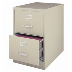 2 Drawer Legal File Cabinet in Putty