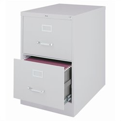 2 Drawer Legal File Cabinet in Gray