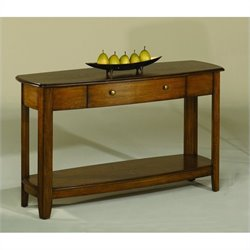 Hammary Primo Sofa Table in Brown