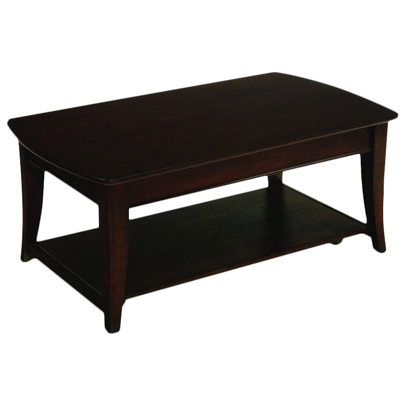 Hammary Enclave Rectangular LiftTop Cocktail Table in Sable