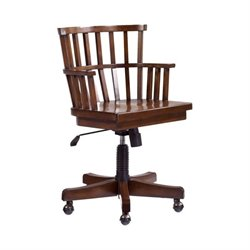 Hammary Mercantile Office Chair in Whiskey Finish