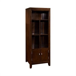 Hammary Tribecca Wall Unit in Root Beer