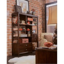 Hammary Tribecca Etagere in Root Beer
