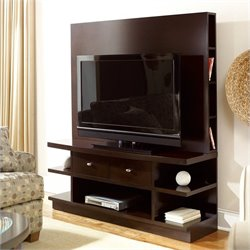 Hammary Urbana Entertainment Console in Dark Merlot