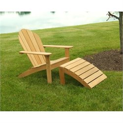 Three Birds Casual Adirondack Patio Chair in Teak