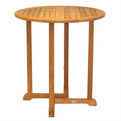 Oxford Round Teak Pub Table
