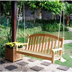 Three Birds Casual Victoria Garden Swing in Teak