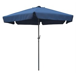 8' Tilt Crank Patio Umbrella in Navy