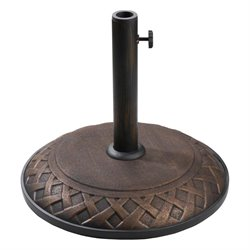 St. Kitts Resin Umbrella Base