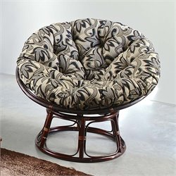 International Caravan Bali Papasan Tapestry Cushion Chair