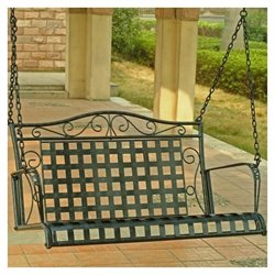 Iron 4-ft Porch Swing