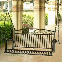 4 Foot Iron Porch Swing