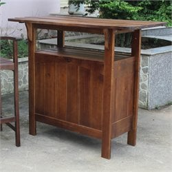 Outdoor Adirondack Patio Bar Table