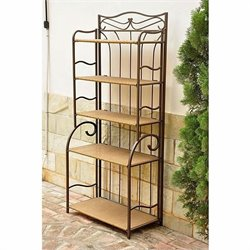 Indoor/Outdoor 5-Tier Bakers Rack