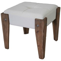 Indoor Fabric Vanity Stool