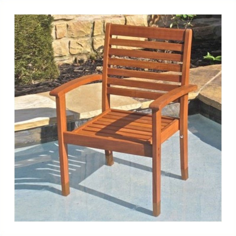 Chair in Balau Stain(Set of 2)