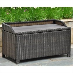 Patio Bench/Trunk in Antique Black