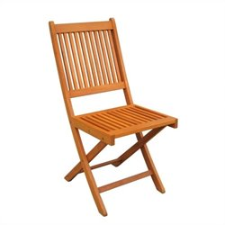 Folding Garden Chair (Set of 2)