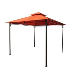 Outdoor Canopy Gazebo in Terra Cotta