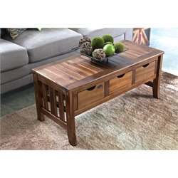 Acacia 38-Inch Indoor/Outdoor Patio Bench