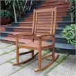 International Caravan Palmdale Contemporary Outdoor Rocking Chair