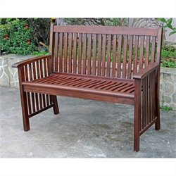 Acacia Palmdale 2-Seater Patio Garden Bench