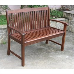 2-Seater Outdoor Park Bench