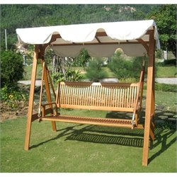 International Caravan Royal Tahiti Outdoor Patio Swing Set