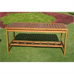 Rectangular Outdoor Patio Coffee Table