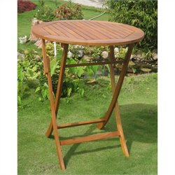 Folding Outdoor Patio Pub Table