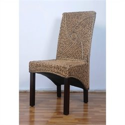 International Caravan Bali Lambada Woven Dining Chair (Set of 2)