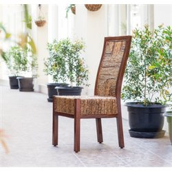Dallas Woven Abaca Dining Chair
