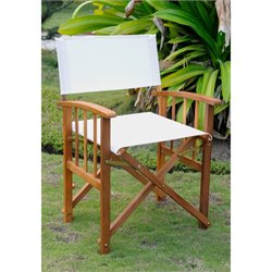 International Caravan Royal Fiji Set of 2 Patio Chair in Natural