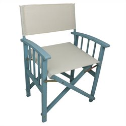 Set of 2 Patio Chair in Sky Blue