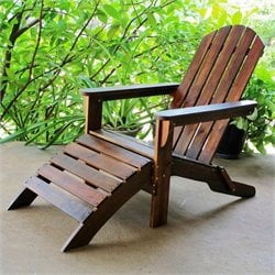 Outdoor Chair in Natural Stain