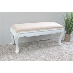 Occasional Bench in Antique White