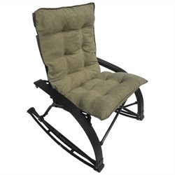 Folding Rocking Chair in Sage