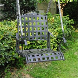 Patio Swing in Antique Black