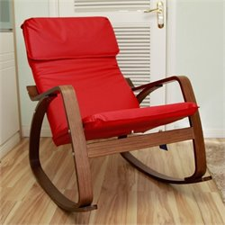 Rocking Chair in Red
