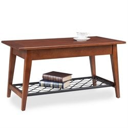 Leick Latisse Coffee Table in Westwood Oak