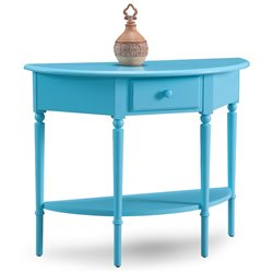 Leick Coastal Notions Console Table with Shelf